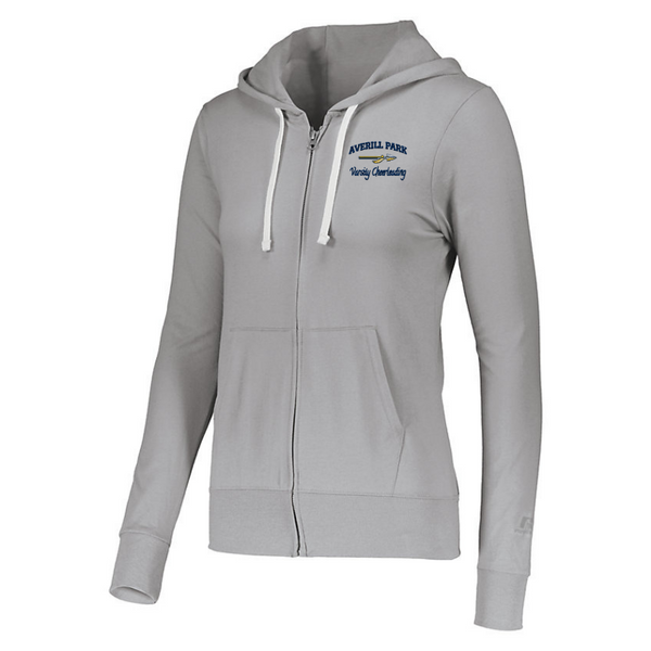 AP Cheer Ladies Full Zip Hoodie- 2 Colors