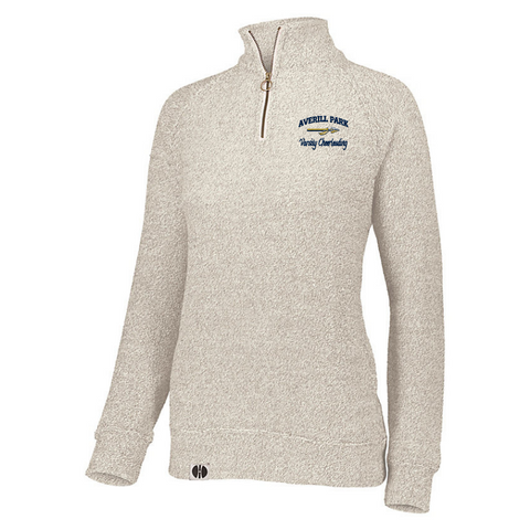 AP Cheer Ladies French Terry Fleece 1/4 Zip Pullover- 3 Colors