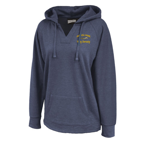 AP Cheer Ladies V-Neck Hoodie- 3 Colors