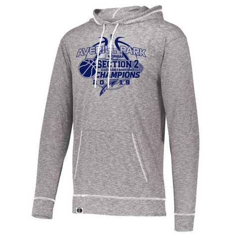 Averill Park Girls Basketball Lightweight Hooded Long Sleeve- Ladies & Men's, 2 Colors