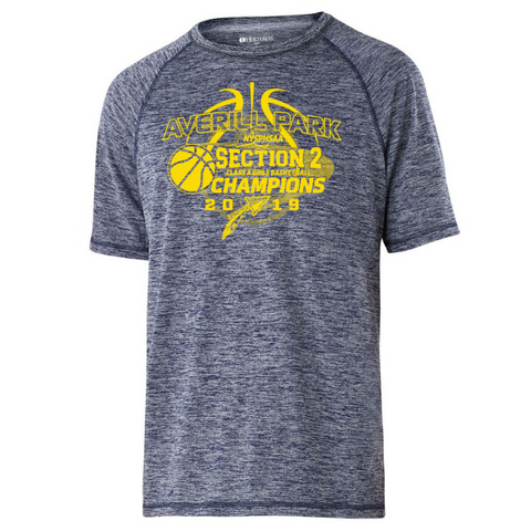 Averill Park Girls Basketball Heather Performance Tee- Youth, Ladies, & Men's, 2 Colors
