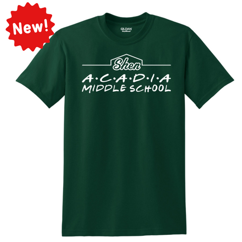 "Acadia ""25 Years"" Cotton Tee- Youth & Adult, 2 Colors"