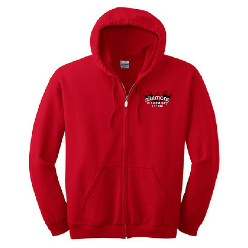 Altamont Elementary Full Zip Hoodie- Youth & Adult, 2 Colors