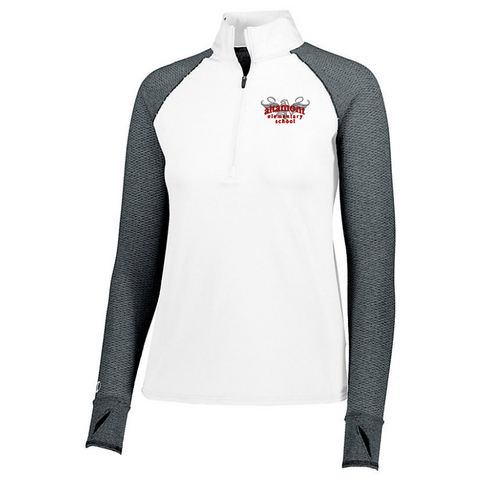 Altamont Elementary Heather Mesh 1/4 Zip- Girls & Ladies, 3 Colors