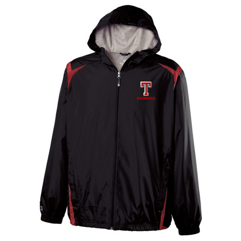 Tamarac Baseball Hooded Full Zip Lightweight Jacket- Youth & Adult, 3 Colors