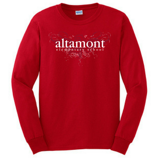 Altamont Elementary Long Sleeve Shirt- Youth & Adult, 3 Colors