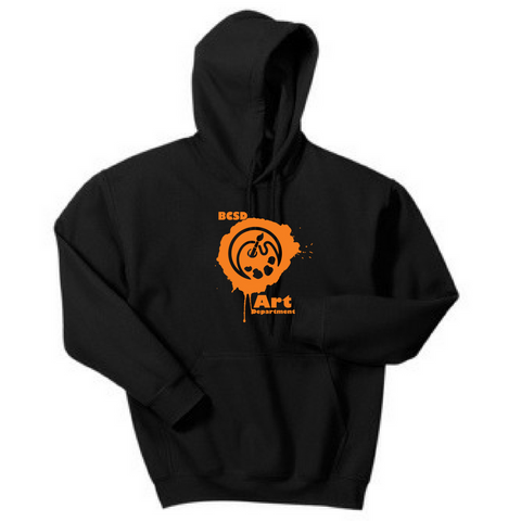 BCSD Art Department Hoodie- Youth & Adult, 2 Colors