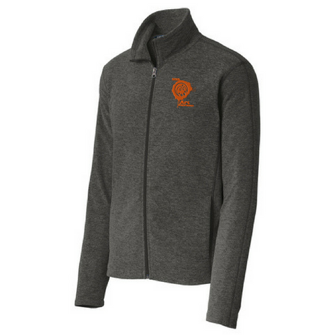 BCSD Art Department Heathered Full Zip Fleece- Ladies & Men's, 2 Colors