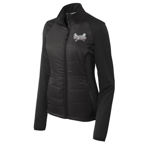 BHBL Lacrosse Hybrid Soft Shell Jacket- Ladies & Men's, 2 Colors