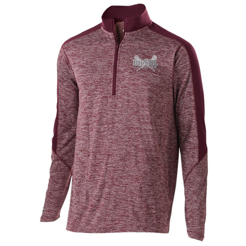 BHBL Lacrosse Heather Lightweight 1/4 Zip Pullover- Youth, Ladies, & Men's, 2 Colors