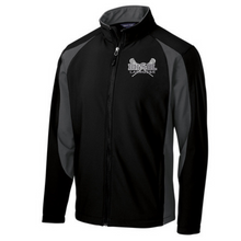 Load image into Gallery viewer, BHBL Lacrosse Colorblock Soft Shell Jacket- Ladies & Men's