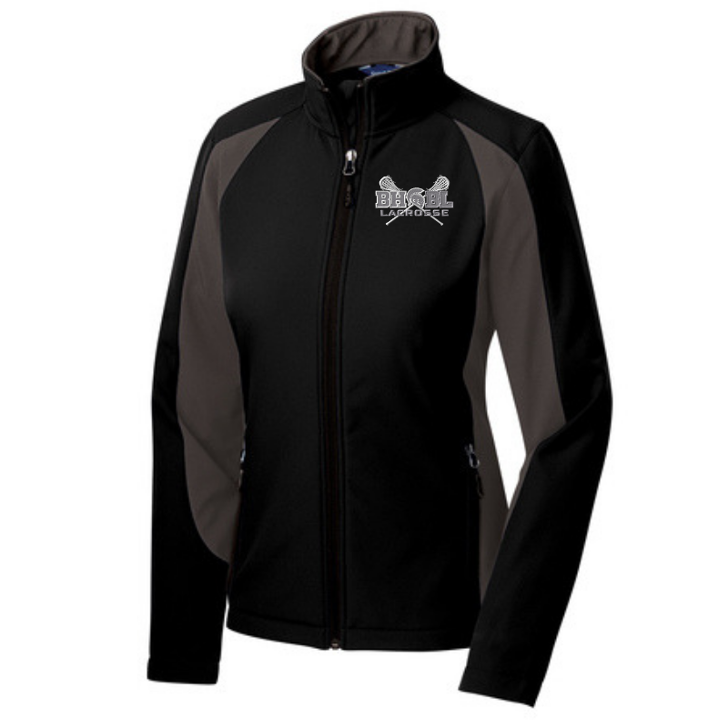 BHBL Lacrosse Colorblock Soft Shell Jacket- Ladies & Men's