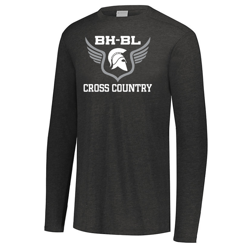 BHBL Cross Country Tri-Blend Long Sleeve- Youth, Ladies, & Men's, 2 Colors