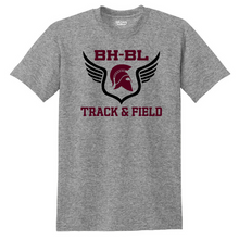 Load image into Gallery viewer, BHBL Track & Field Cotton Tee- Youth & Adult, 2 Colors