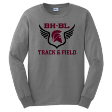 Load image into Gallery viewer, BHBL Track & Field Long Sleeve Tee- Youth & Adult, 2 Colors