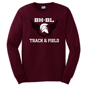BHBL Track & Field Long Sleeve Tee- Youth & Adult, 2 Colors
