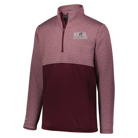 BHBL Textured 1/4 Zip Performance Pullover- Ladies & Men's, 2 Colors