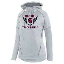 Load image into Gallery viewer, BHBL Track & Field Performance Hoodie- Youth & Adult, 2 Colors