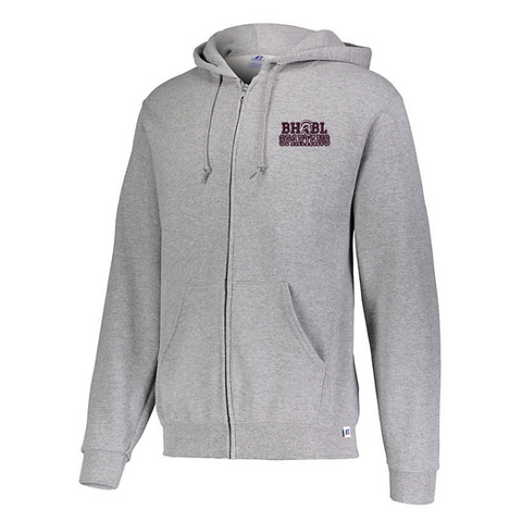 BHBL Full Zip Hoodie- Ladies & Men's, 2 Colors