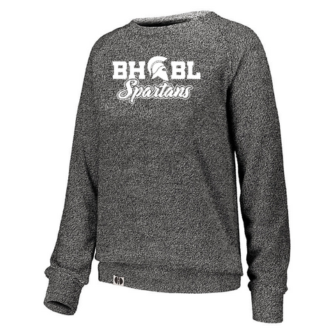 BHBL Ladies French Terry Fleece Crew- 2 Colors