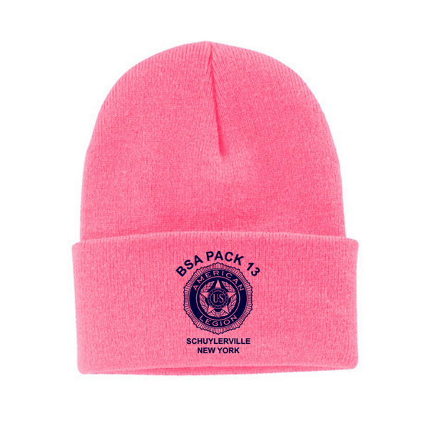BSA Pack 13 Fold-Over Beanie- 2 Colors