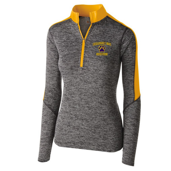 Ballston Spa Heather Lightweight 1/4 Zip Pullover- Youth, Ladies, & Men's, 3 Colors