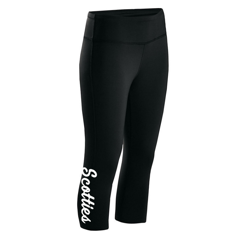 Ballston Spa Ladies Spandex Pants- Capri and Full Legging, 2 Colors