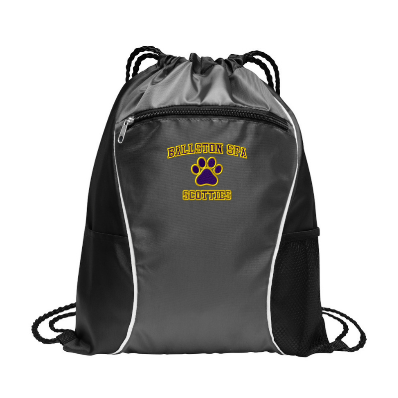 Ballston Spa Drawstring Bag- 3 Colors