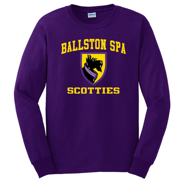 Ballston Spa Long Sleeve Tee- Youth & Adult, 5 Colors, 2 Logos