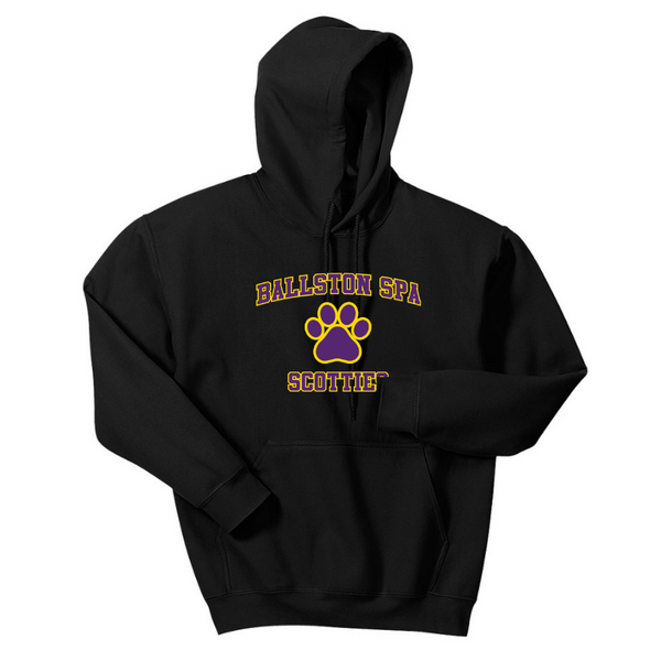 Ballston Spa Hoodie- Youth & Adult, 4 Colors, 2 Logos