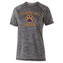 Load image into Gallery viewer, Ballston Spa Heather Performance Tee- Youth, Ladies, & Men's, 2 Colors, 2 Logos