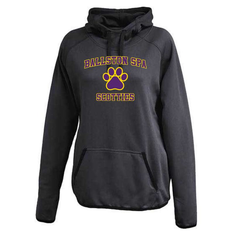 Ballston Spa Ladies Performance Hoodie- 3 Colors, 2 Logos