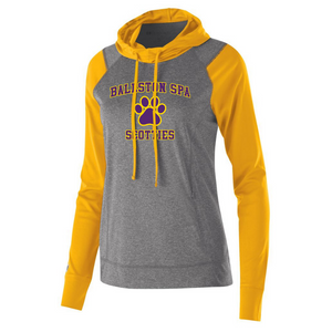 Ballston Spa Hooded Long Sleeve Performance Shirt- Youth, Ladies & Men's, 3 Colors, 2 Logos