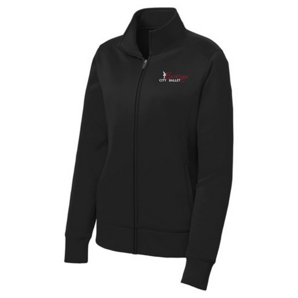 Saratoga Ballet Performance Full Zip Jacket- YOUTH, Ladies & Men's