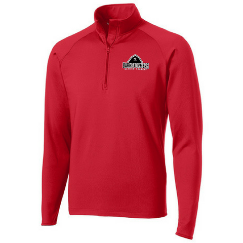 Barnstormers 1/4 Zip Performance Pullover- Ladies & Men's, 2 Colors