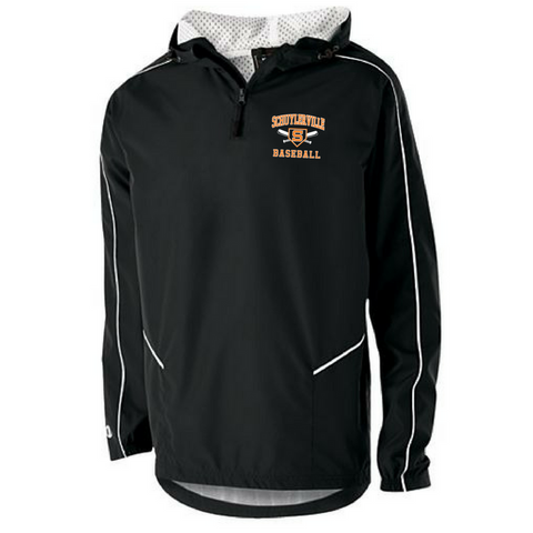 Schuylerville Baseball/Softball Hooded 1/4 Zip Pullover- Adult & Youth