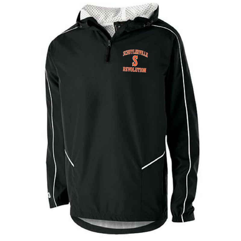 Schuylerville Revolution Hooded 1/4 Zip Pullover- Adult & Youth