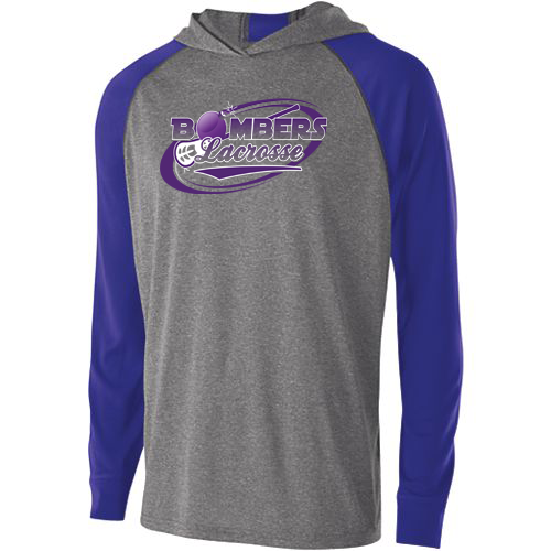 Bombers Lacrosse Two-Tone Performance Hoodie