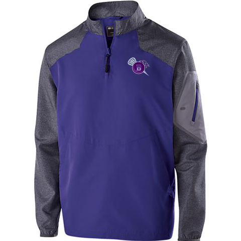 Bombers Lacrosse 1/4 Zip Pullover- Youth & Adult, 4 Colors