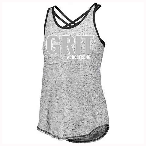 CBC Ladies Criss Cross Tank -  2 Logo Options