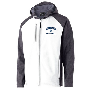 Columbia Football Colorblock Softshell Jacket- Ladies & Men's, 2 Colors, 3 Logo Options