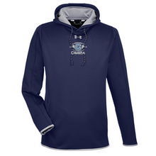 Load image into Gallery viewer, Columbia Football Under Armour Performance Hoodie- Ladies & Men's, 3 Colors, 3 Logo Options