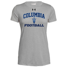 Load image into Gallery viewer, Columbia Football Under Armour Short Sleeve Performance Shirt- Ladies & Men's, 3 Colors