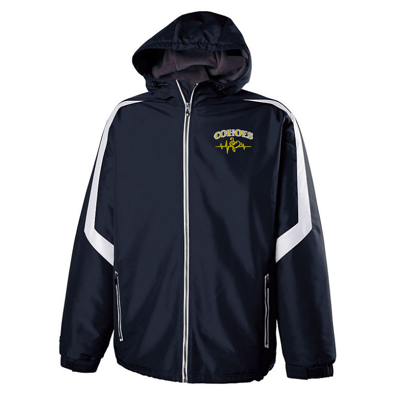 Cohoes Music Hooded Heavy-Weight Full Zip Jacket- Youth & Adult, 2 Colors
