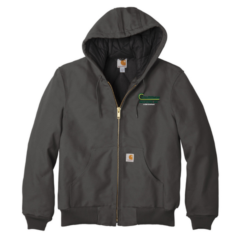 Callanan Carhartt Qulited Flannel-Lined Duck Active Jacket- 4 Colors