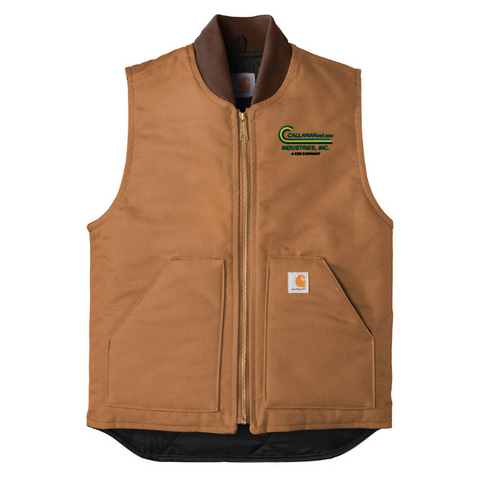 Callanan Carhartt Duck Vest- 2 Colors