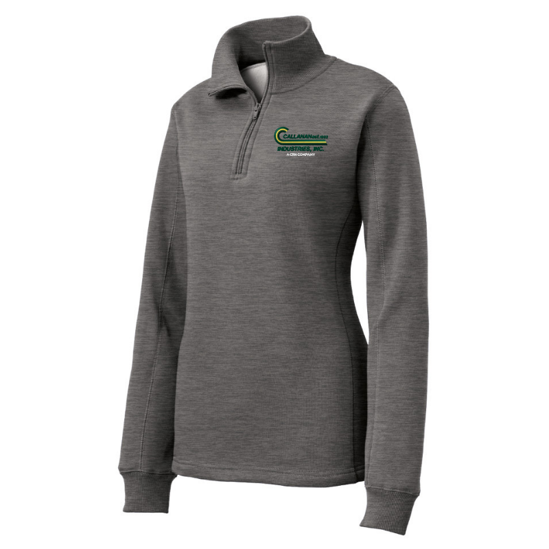 Callanan Ladies 1/4 Zip Sweatshirt- 4 Colors