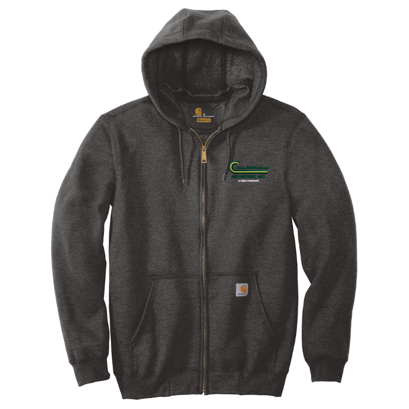 Callanan Carhartt Midweight Full-Zip Hooded Sweatshirt- 4 Colors