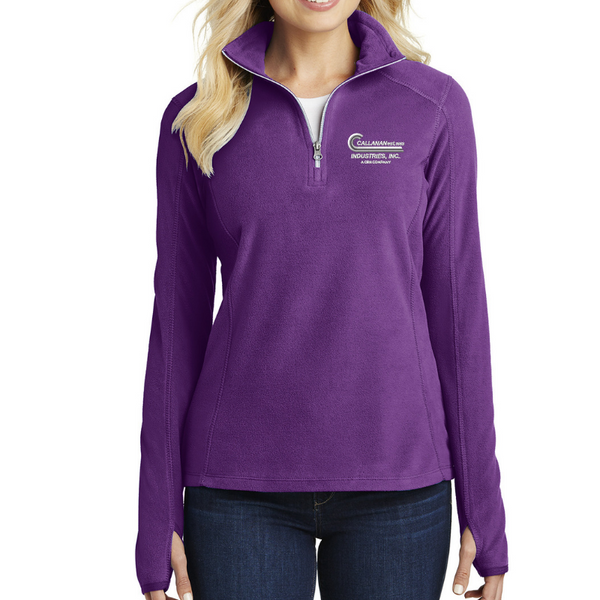 CRH Companies Ladies 1/4 Zip Microfleece- 4 Colors