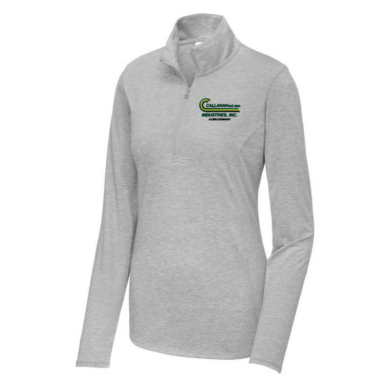 Callanan Ladies Lightweight Tri-Blend 1/4 Zip Pullover- 4 Colors